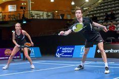 Kwartfinale WK Badminton 2015 voor Jacco Arends en Selena Piek