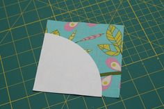 STITCHED by Crystal: Tutorial: Quilting curves - The Drunkard's Path