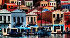 Do you think they planned this color scheme on Kastelorizo Island?