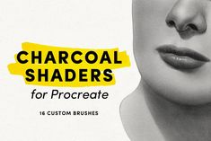 The Charcoal Shader pack includes 16 custom made brushes with unique brush shapes and textures. Best for achieving smooth blending, seamless value gradations, and authentic texture. Photoshop Brushes, Photoshop Actions, Photoshop For Photographers, Photoshop Elements, Photoshop Tutorial, Designs To Draw, Amazing Photography, Photo Editing, Pintura