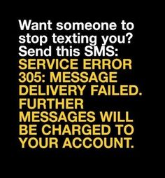 Funny SMS/Text Message