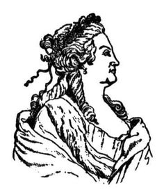 Catherine II, the Russian empress coloring page - Catherine the Great