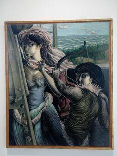 Milena Pavlovic Barili - Paintress with Archer (1937)