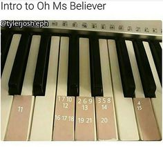 Another riveting piano intro for oh ms believer Ukulele Songs, Piano Songs, Piano Sheet Music, Twenty One Pilots, Oh Ms Believer, Cello, Radios, Piano Keys, Chant