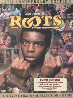 Roots, 1977 3 maanden  in het ziekenhuis gelegen tijdens mijn zwangerschap. Deze serie toen gevolgd in bed. Zo veel indruk gemaakt!