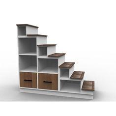 Escalier pour mezzanine, modèle Zen