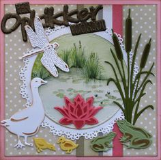 Marianne Design Cards, Bird Cards, Scrapbook Cards, Stampin Up Cards, Table Decorations, Craft, Cards, Animaux, Seeds