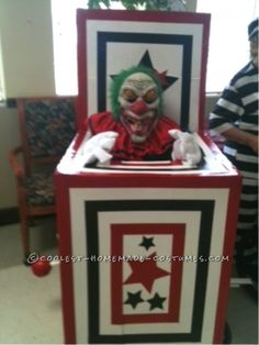Senior Jack in the Box Wheelchair Costume