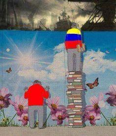 Esta foto realmente representa la situación actual del país ! De pana !