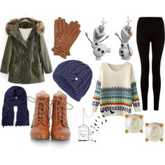 """Baby, It's Cold Outside!!"" by chloe-troshynski on Polyvore"