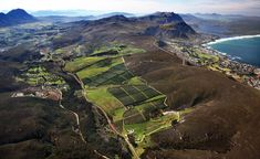 The Hemel-en-Aarde Valley, where South Africa's finest Pinot Noirs are made