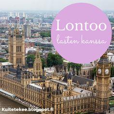 Lontoo lasten kanssa
