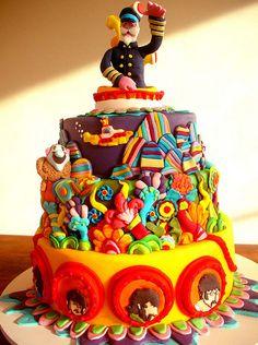 The Beatles Birthday Cake.