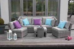 Daybed Palma 5-tlg. inkl. Kissen