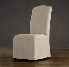 Hudson Camelback Slipcovered Side Chair With Slipcover Fabric Arm Chairs Restoration Hardware Lacie Norman Gorder They Re Curly On