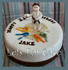 Karate cake   http://www.facebook.com/pages/Lets-Eat-Cake/215286061816033