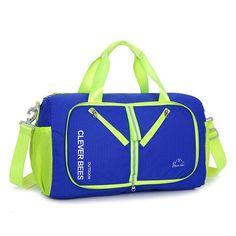 Nylon Waterproof Large Capacity Luggage Bag Foldable Shoulder Bag Clutch Bag  For Men Women 1e1cb8bb25