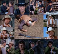 Ben stumbles upon the carcasses of two bucks on Ponderosa land and goes scouting for the poacher. When his horse turns up riderless and with bloodstains on the saddle, his sons conjecture that he has been murdered. In an uncharacteristic display of rashness, Adam, Hoss, and Joe tear off to apprehend the man who totes their pa's special rifle with an inlaid stock. From The Legacy (Bonanza)
