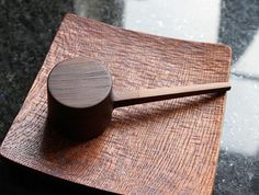 Walnut Coffee Measure by Atelier tree song at OEN Shop