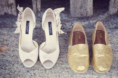 I love that TOMS are becoming a wedding must.