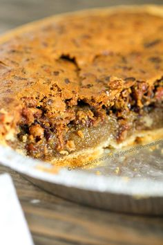 Easy Pecan Pie has a delicious gooey filling topped with pecans for the perfect holiday dessert! Its easy to make ( this recipe contains no corn syrup)! Pecan Pie Recipe No Corn Syrup, Homemade Pecan Pie, Pecan Pie Filling, Pecan Pie Bars, Pecan Pies, Easy Pie Recipes, Pecan Recipes, Cooking Recipes, Pecan Desserts