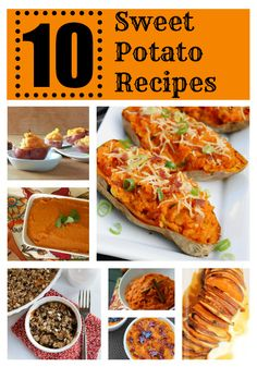 10 Sweet Potato Recipes » Perfect for #Thanksgiving!