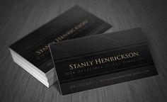 Business cards are no longer used just to provide basic information about yourself and your company. Today, more and more companies are using creatively Free Business Card Templates, Free Business Cards, Professional Business Cards, Free Black, Free Prints, Corporate Design, Brand Packaging, 100 Free, Art Director
