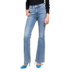 Stevie High Waist Flare Jeans in Berg Wash