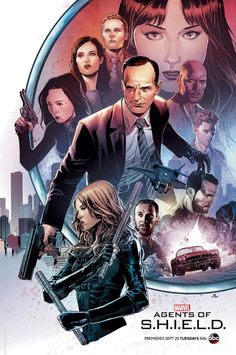 Agents Of S.H.I.E.L.D. Season 3 Comic Con Poster
