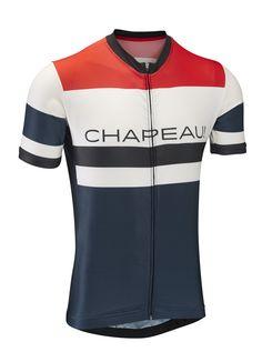 Etape Jersey - Petrol Blue Chest Stripe - New In: Men - Men - Chapeau!
