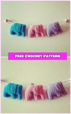 Crochet Elephant Amigurumi Free Pattern - crochet Sweet little elephant free pattern