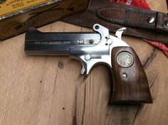 Six Gun Grips for the Bond Arms Derringer Figured Black Walnut