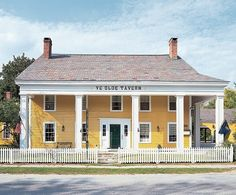 A 1790 tavern is one of seven historic buildings that will make up The North Shire Museum and History Center, in Manchester Center, Vermont