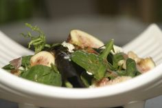 Figs, Prosciutto and Blue Cheese Salad from Food Done Light