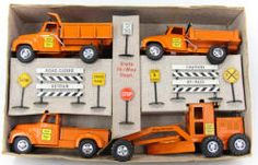 1956 Tonka State Highway Construction Set - Boxed