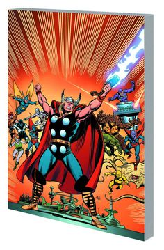 Thor: Gods and Guardians of the Galaxy #TPB Virgin Cover #Marvel #Thor (Cover Artist: John Buscema) On Sale: 7/10/2013