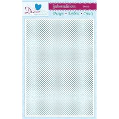 Crafter's Companion Dottie - A4 Embossalicious Embossing Folder Pre-Order