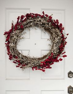 Easy To Make Holiday Wreath http://fabyoubliss.com