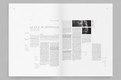 Editorial / Septième art - Programa de páginas by Federico Kanno, via Behance