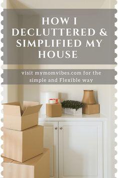 A low pressure way to purge, simplify and declutter your house. #springcleaning #purge #declutteringahouse
