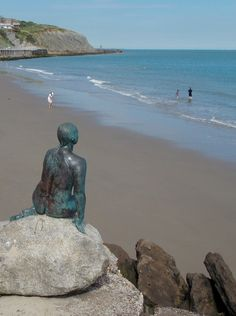 The Folkestone Mermaid, Kent, England by Cornelia Parker. By B Lowe The Folkestone Mermaid, Kent, England by Cornelia Parker. By B Lowe Kent England, England And Scotland, Cornelia Parker, Great Places, Places To Visit, Video Chat, British Isles, Great Britain, Seaside