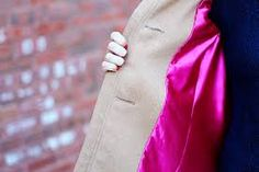 repair a coat lining