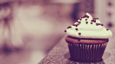 Wallpaper Cupcake de Chocolate by Lucy9o on DeviantArt