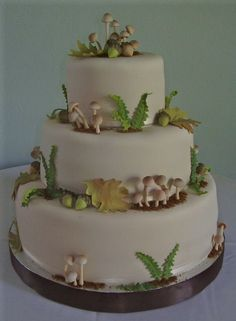 nice woodland cake from cake central