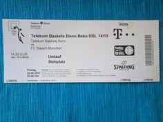 Mein 2. Besuch bei den Telekom Baskets Bonn steht fest.(#)