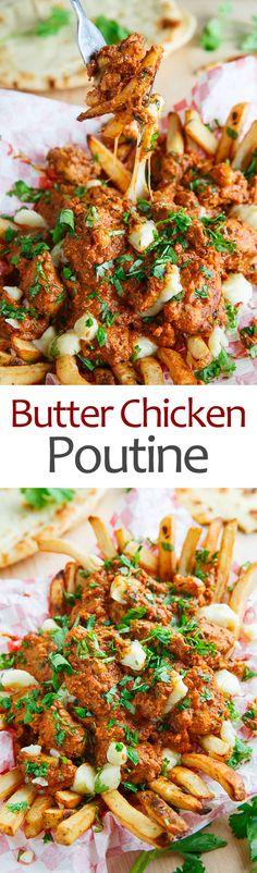 Butter Chicken Poutine