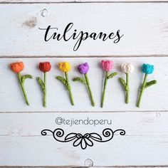 Bello tulipanes pequeñitos tejidos a #crochet paso a paso gratuito☀️ Wedding Favors, Wedding Decorations, Sister In Law Birthday, Planet Cake, Cute Crochet, Crochet Art, Crochet Flowers, Little Sister Gifts, Orchid Seeds