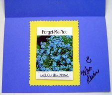 forget me not end of year card for students via www.pre-kpages.com click picture for details #preschool