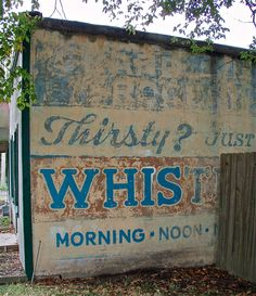 This great ghost sign lasted for nearly 100 years in Columbia, Missouri on Grand Ave. This year it was destroyed by painting over it with white paint. Grrrrrrrrr