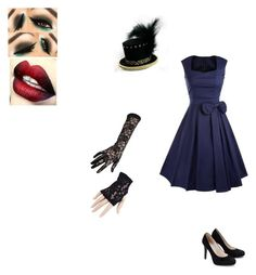 """Untitled #591"" by themadhattersnightmare on Polyvore featuring Black"
